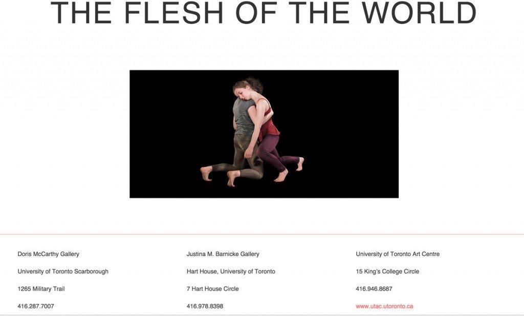 Erin Gee - Flesh of the World - http://www.fleshoftheworld.ca